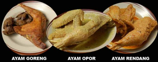 Ayam Goreng, Opor dan Rendang Asli Semarang....